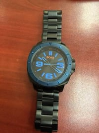Hugo Boss original bLack KROM watch  3727 km