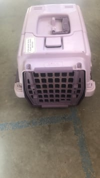 white and purple pet carrier Saanichton, V8M 1L4
