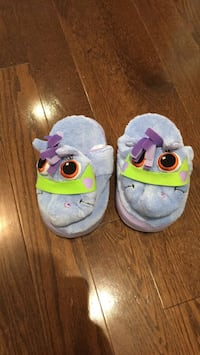 Kids slippers - approx size 11