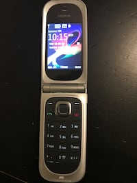 NOKIA FLIP PHONE BIG NUMBER AS NEW UNLOCKED