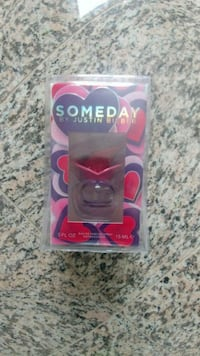 clear Someday by Justin Bieber fragrance pack