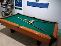 Pool table.  Frederick