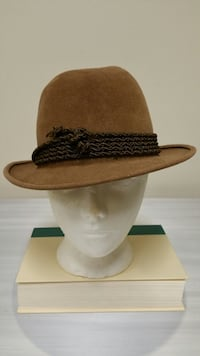 FELT HAT w/BRAIDED TRIM - firm price. Arlington, 22204