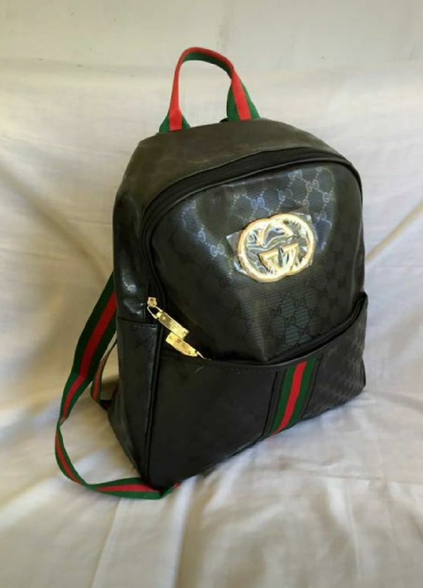 50cec7d1aa9f Used black Gucci leather backpack for sale in Alpharetta - letgo