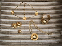 Large Eritrean/Ethiopian traditional gold jewelry set Mississauga, L5M 0T8