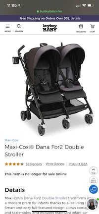 Maxi Cosí Double Stroller  District Heights, 20747