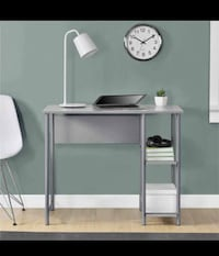 New Gray Basic Student Desk Houston, 77080