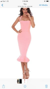 Honey Black Bandage Body-con dress xs Brampton, L6P 2L8