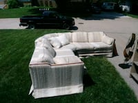 Sectional couch $75 Omaha, 68134