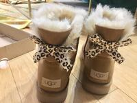 pair of brown UGG Bailey Button boots New York, 10036