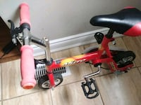 toddler's red and black bicycle Richmond Hill, L4C 4S8