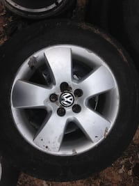Volkswagen rims and tires for sale 250 OBO Ottawa, K0A 2W0