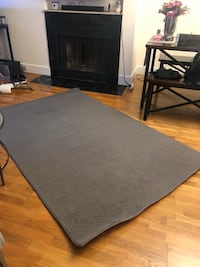 Gray Rug 4.5' x 7'  Boston, 02116