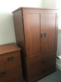 2 door wardrobe with 2 drawers Miami Beach, 33141