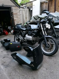 1986 BMW k75 black one first pic Mississauga, L5A 2A6