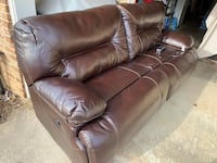 Power recliner brown leather sofa brand NEW from Grand Furniture  Winchester, 22601
