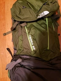 Northface Terra 65 Backpack. Used never countless pockets Tewksbury, 01876