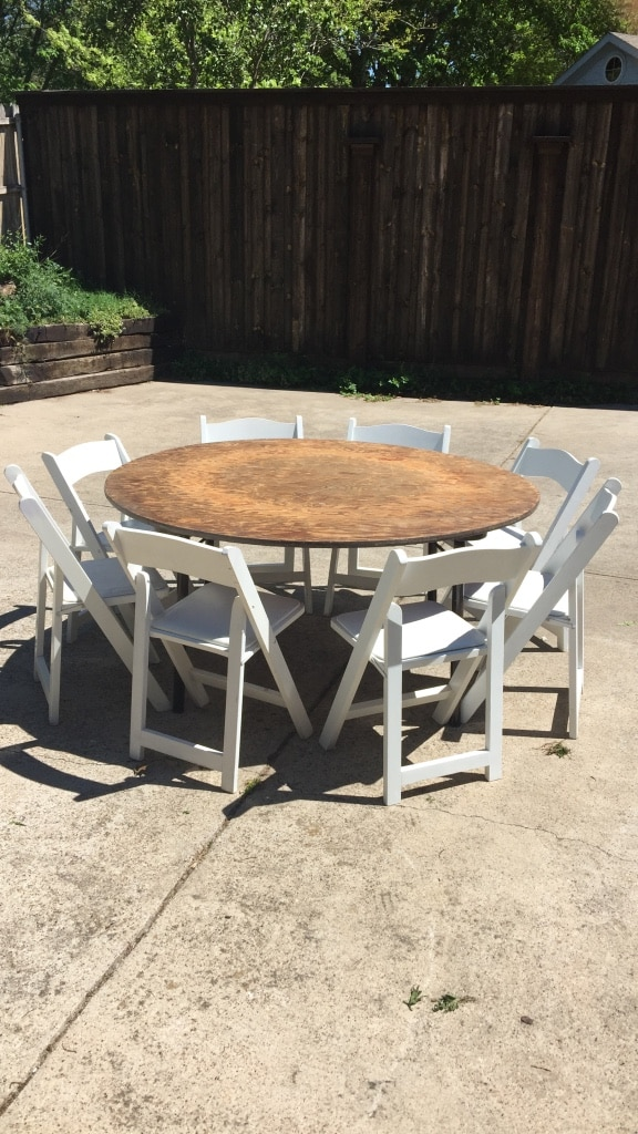 used for rent tables 8 and chairs 2 for sale in garland letgo rh tr letgo com
