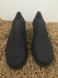 pair of black suede slip-on shoes Roseville, 95678
