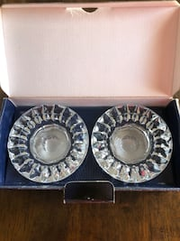 NEW Genuine Crystal Candleholders Set Markham, L6B 1N4