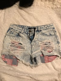 Women's 4th of July shorts Firth, 68358