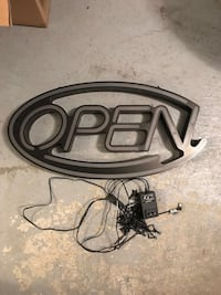 LED Open Sign (English) Vaughan, L4H 2P8