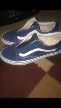 pair of blue-and-white Vans sneakers Alexandria, 22304