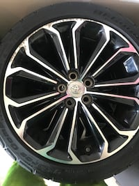 Toyota Corolla rims and tires Woodbridge, 22193