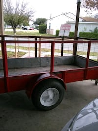 red and brown utility trailer San Antonio, 78210