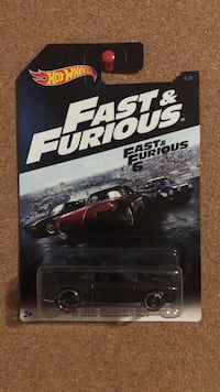 Dodge Challenger fast and furious hot wheels diecast Vaughan, L6A