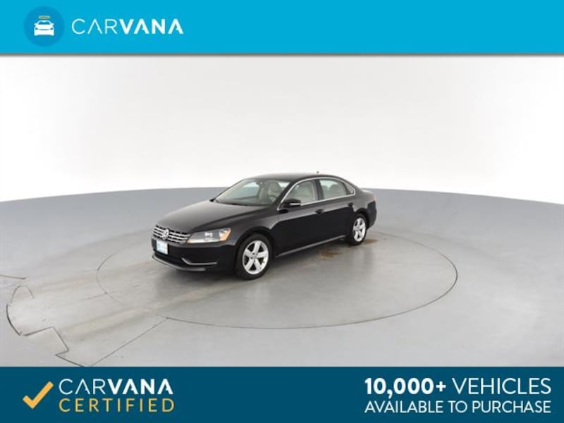 2013 VW Volkswagen Passat sedan TDI SE Sedan 4D BLACK 5
