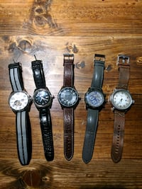 5 GREAT WATCHES - 3 left Innisfil, L9S 0C8