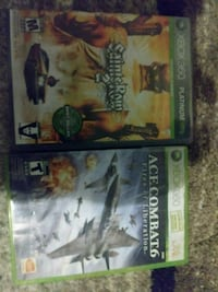 two Xbox 360 game cases Littleton, 80120