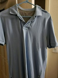 gray and white polo shirt Bakersfield, 93313