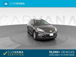 2016 Chevy Chevrolet Traverse suv LT Sport Utility 4D Gray