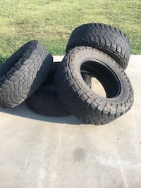 Toyo Mud terrain 37x13.5r20 plenty tread left, one tire may have a broken steel belt. Perfect for off-roading. Reduced!! Duson, 70529