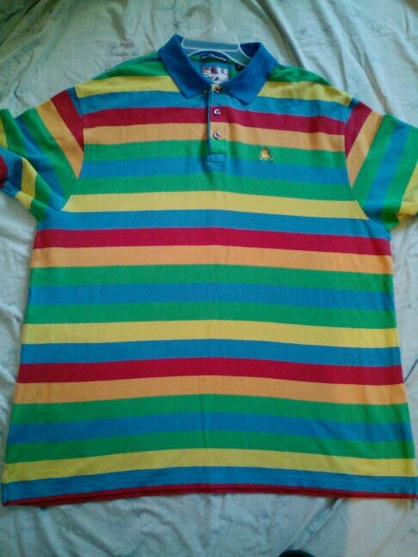 91c8a159 Used men's rainbow colored coogi shirt sz xl for sale in Dallas - letgo