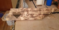 Custom personalized wood state plaques  Shelbyville, 37160