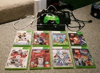 X box 360, controllers and 8 games Mississauga, L5L 3P5