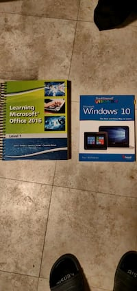 MS Office '16 and Windows 10 Learning Books