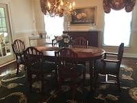 Bombay Dining Room Table, Chairs and Buffet Glen Arm, 21057