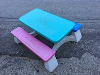 Fisher price children's picnic table needs a good cleaning for 75 takes it away New Milford, 06776
