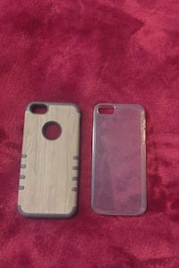 Two iPhone se/iphone5 cases  $3 for both
