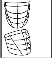 Victoria Shamrocks Max Lax Pro Lacrosse FaceMask Cages Victoria, V8N 3H9