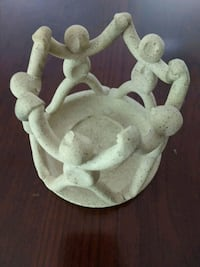 Pottery Candle Holder Kennebunk