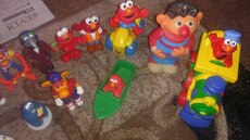 Huge sesame street Muppets figures and vehicles