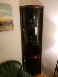3 pieces Glass cabinet