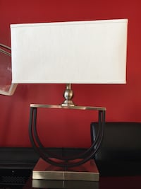 white and gray table lamp Toronto, M4S