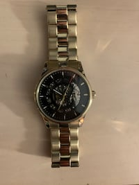 Caravelle New York Men's 44A107 Analog Display Mechanical Hand Wind Gold Watch 238 mi
