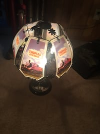 Thomas the train touch lamp